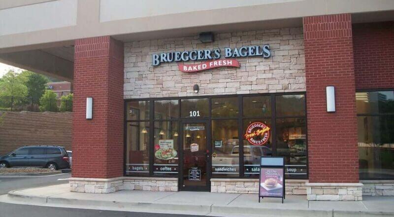 Bruegger's bagels