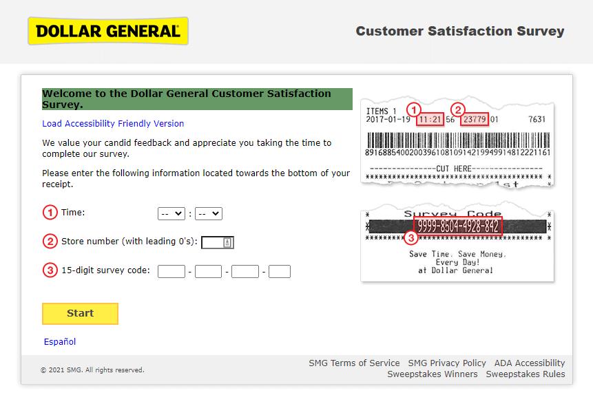 dgcustomerfirst.com survey